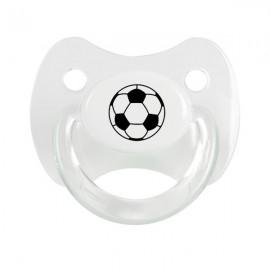 Tétine avec ballon de foot