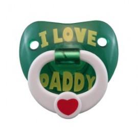 Tétine I love Daddy -j'aime mon Papa