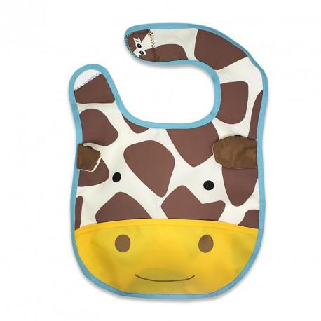 Bavoir Zoo model Girafe