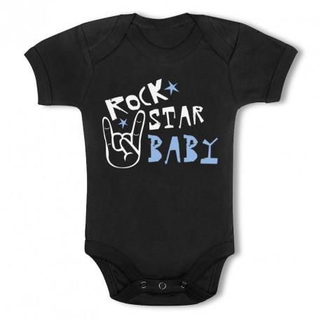 Body Bébé Personnalisé RockStar