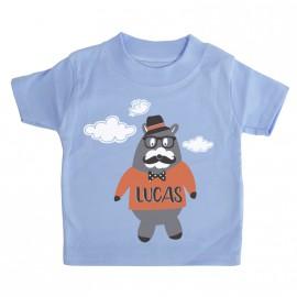 T-shirt Personnalisé Petit Ours Hipster