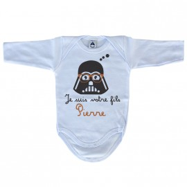 Body Bébé Je suis ton fils Star Wars