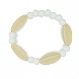 Bracelet d'allaitement mixte couleur crème