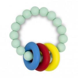 Bracelet d'allaitement vert menthe
