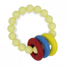 Bracelet d' allaitement jaune crème