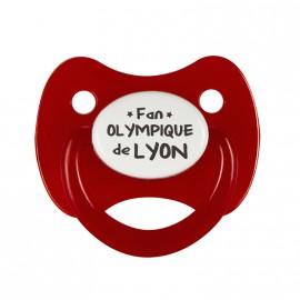Tétine Fan Olympique  Lyonnais