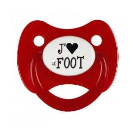 Tétine j'aime le Foot