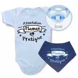 Pack Body Personnalisé Maman en pratique