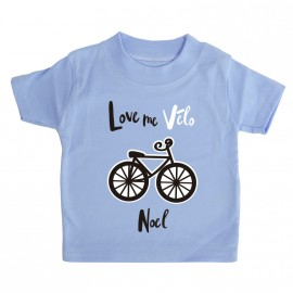 T-shirt  I love Vélo