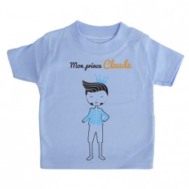 T-shirt Personnalisé Mon Prince
