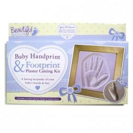 Kit d'emprintes avec cadre pour bébé
