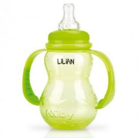 Biberon Nûby 210 ml Vert