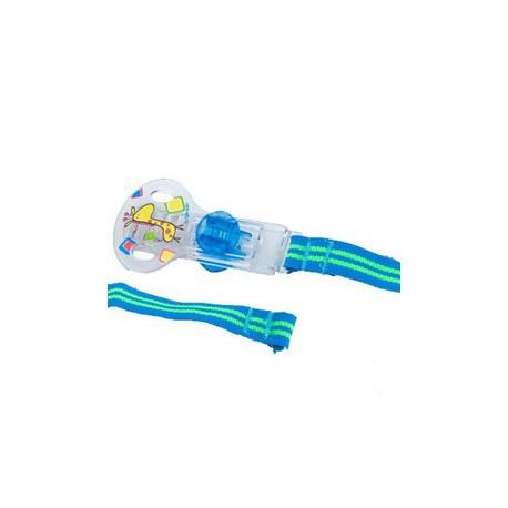 Attache Tétine Nûby avec Velcro Turquoise